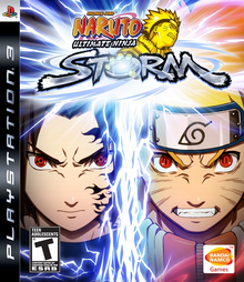 Box art for the game Naruto: Ultimate Ninja Storm