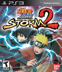 Box art for the game Naruto Shippuden: Ultimate Ninja Storm 2