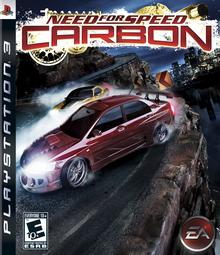 Capa do jogo Need for Speed: Carbon