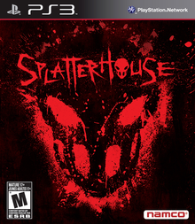 Box art for the game Splatterhouse
