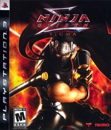 Box art for the game Ninja Gaiden Sigma