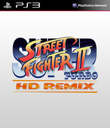 Box art for the game Super Street Fighter II Turbo HD Remix