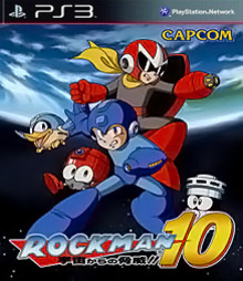 Box art for the game Mega Man 10