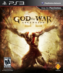 Box art for the game God of War: Ascension