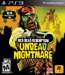 Box art for the game Red Dead Redemption: Undead Nightmare Pack