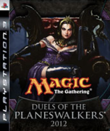 Box art for the game Magic: The Gathering - Duels of the Planeswalkers 2012
