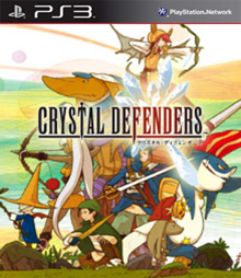 Box art for the game Crystal Defenders