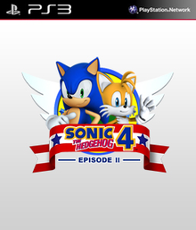 Box art for the game Sonic the Hedgehog 4: Episode II