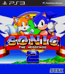 Box art for the game Sonic the Hedgehog 2