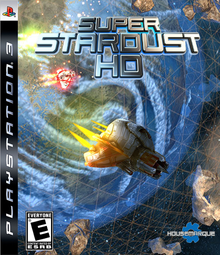 Box art for the game Super Stardust HD
