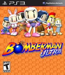 Box art for the game Bomberman Ultra