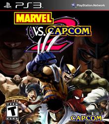 Box art for the game Marvel vs. Capcom 2