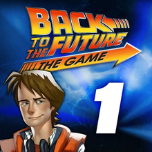 Box art for the game Back to the Future: The Game - Episode 1: It's About Time