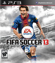 Box art for the game FIFA Soccer 13