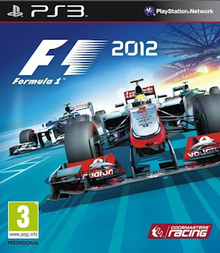 Box art for the game Formula 1 2012