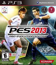 Capa do jogo Pro Evolution Soccer 2013