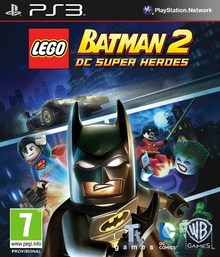 Capa do jogo LEGO Batman 2: DC Super Heroes