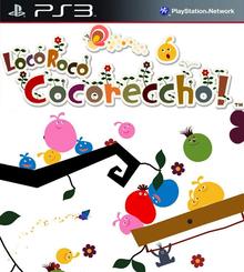 Box art for the game LocoRoco Cocoreccho!