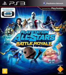 Box art for the game PlayStation All-Stars Battle Royale