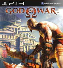 Box art for the game God of War