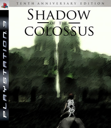 Box art for the game Shadow of the Colossus