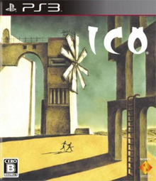 Box art for the game ICO
