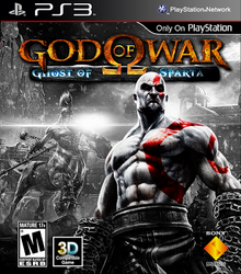 Box art for the game God of War: Ghost of Sparta