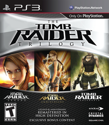 Box art for the game Tomb Raider: Legend