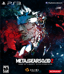 Capa do jogo Metal Gear Solid 2: Sons of Liberty HD