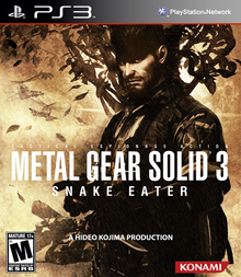 Capa do jogo Metal Gear Solid 3: Snake Eater HD