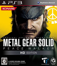 Box art for the game Metal Gear Solid: Peace Walker HD Edition