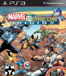 Capa do jogo Marvel vs. Capcom Origins