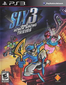 Box art for the game The Sly Collection (Sly 3: Honor Among Thieves)