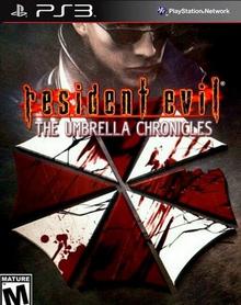Box art for the game Resident Evil: The Umbrella Chronicles