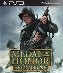 Box art for the game Medal of Honor: Frontline