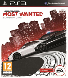 Box art for the game Need for Speed Most Wanted (2012)
