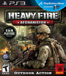 Box art for the game Heavy Fire: Afghanistan