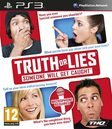 Box art for the game Truth or Lies