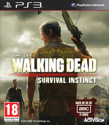 Box art for the game The Walking Dead: Survival Instinct