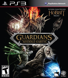 Box art for the game  Guardians of Middle-Earth
