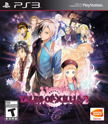 Box art for the game Tales of Xillia 2