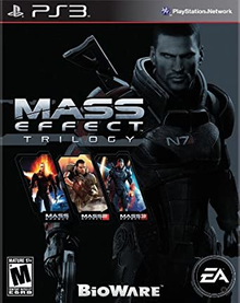 Box art for the game Mass Effect Trilogy
