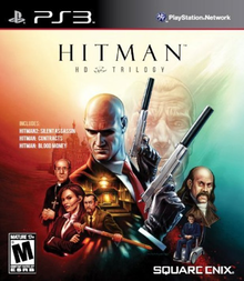 Box art for the game Hitman HD Trilogy (Silent Assassin)