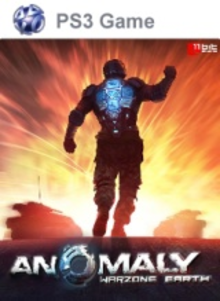 Box art for the game Anomaly Warzone Earth