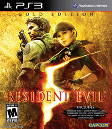 Box art for the game Resident Evil 5: Gold Edition