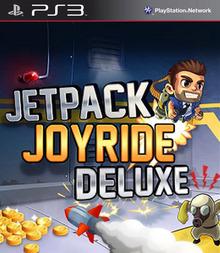Box art for the game Jetpack Joyride