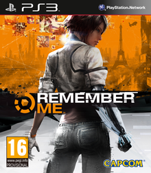 Box art for the game Remember Me