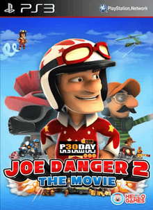 Box art for the game Joe Danger 2: The Movie