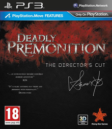 Box art for the game Deadly Premonition: The Director's Cut