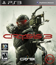 Box art for the game Crysis 3